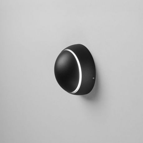 Light-Point Luna W2 væglampe - Sort