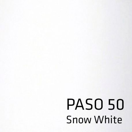 Paso 50 tekstil lampeskærm - Snow white