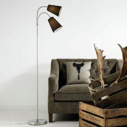 Nordlux Lelio gulvlampe - Sort