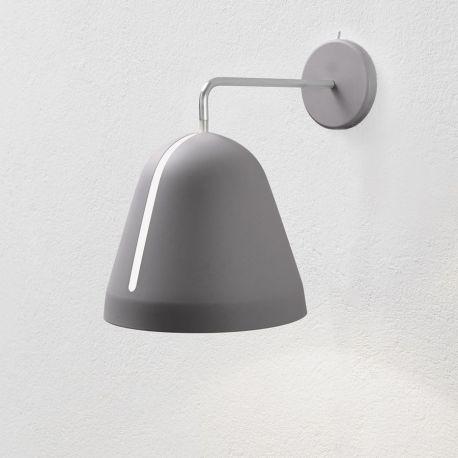 Tilt væglampe - Grå