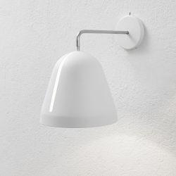 Tilt væglampe - Hvid