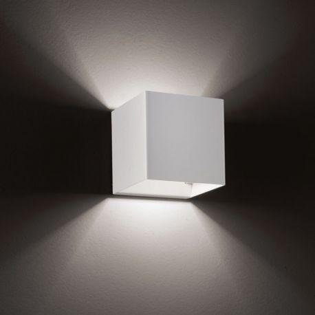 Laser AP9 væglampe - Hvid
