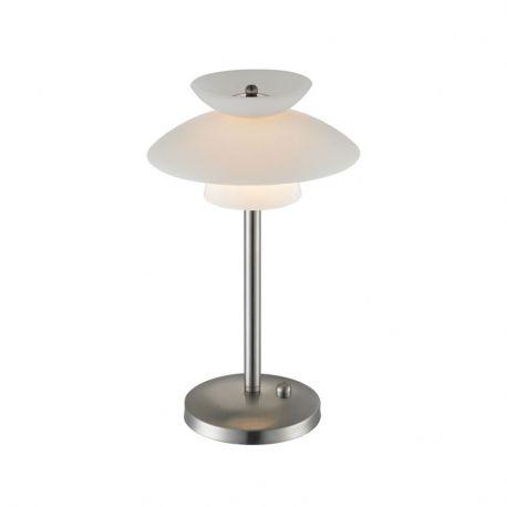 Midi Dallas bordlampe m/lysdæmper - Opal