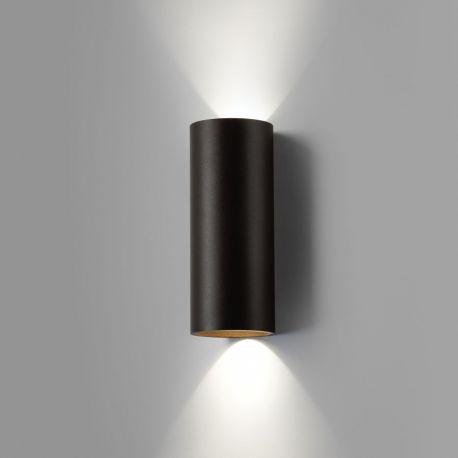 Zero W2 væglampe - Sort/guld - Light-Point