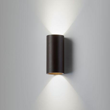 Zero W1 væglampe - Sort/guld - Light-Point