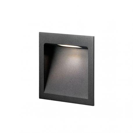 Light-Point Deli 2 indbygningsspot - Sort