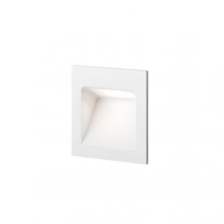 Light-Point Deli 1 indbygningsspot - Hvid