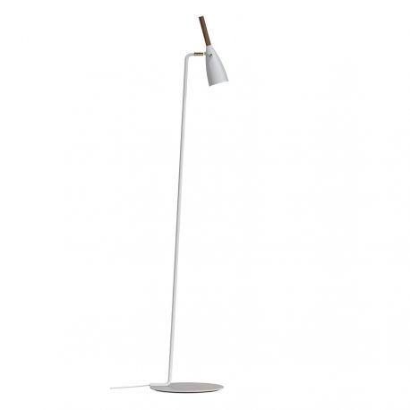 Nordlux Pure gulvlampe - Hvid/valnød
