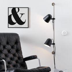 Conrad væglampe - Sort - Markslöjd