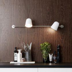Conrad væglampe - Hvid - Markslöjd