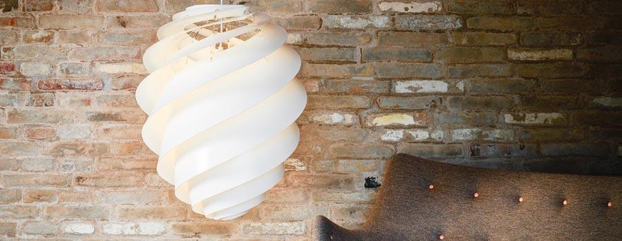 Le Klint Swirl lampeserien designet af Øivind Slaatto
