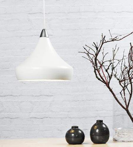 Hvid Fascino lampe fra Nordlux