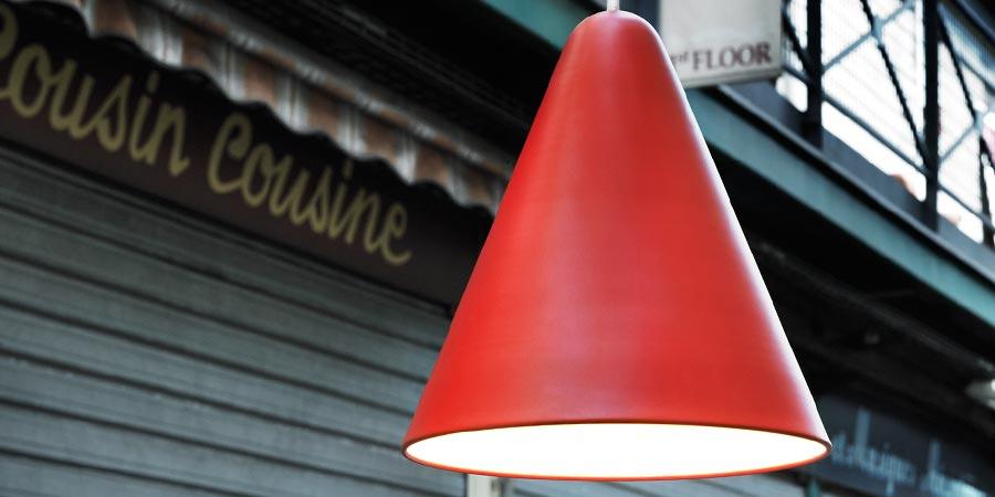 Rød Jive lampe fra Nordlux