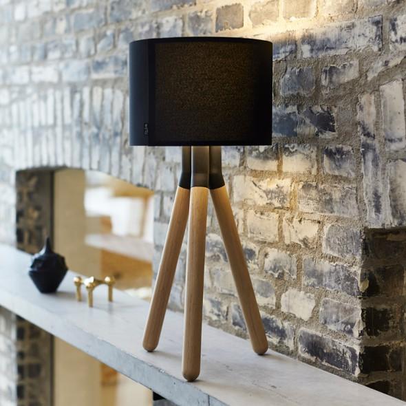 PASO Wood bordlampe