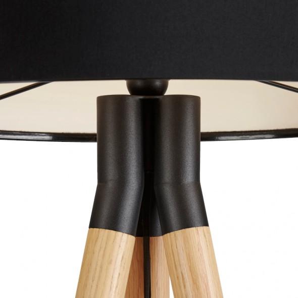 PASO Wood standerlampe detaljer