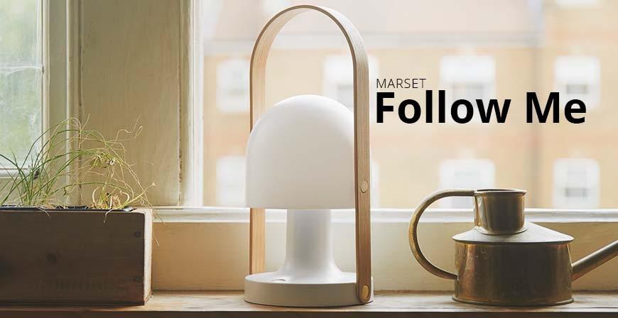 Follow Me lampe fra Marset