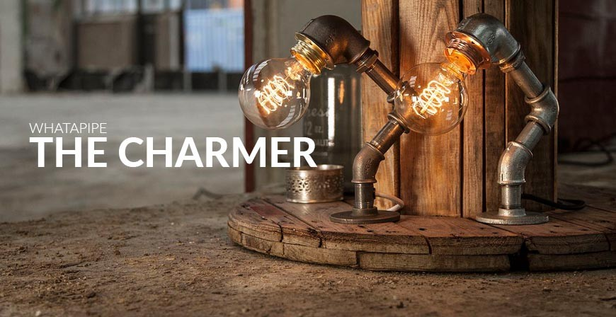WHATAPIPE The Charmer bordlampe